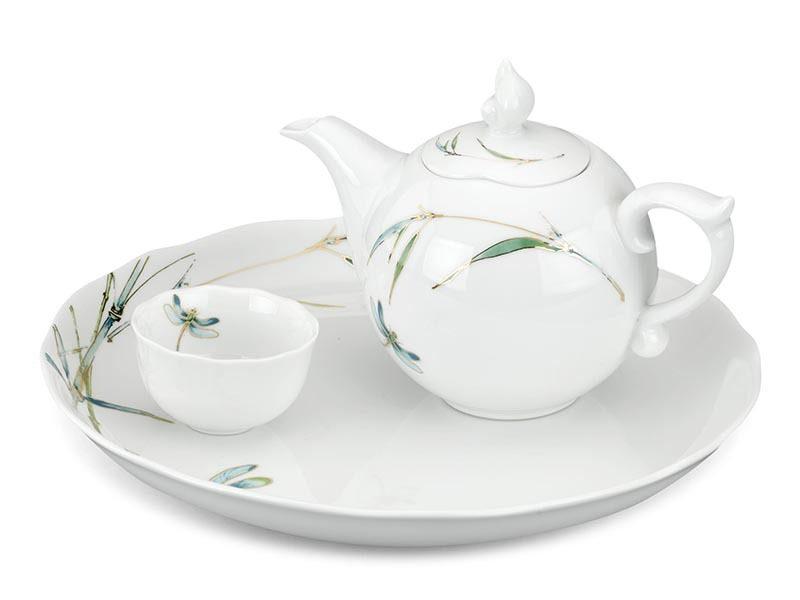 Bộ trà Minh Long, Bộ trà Minh Long 0.3 L - Mẫu Đơn IFP Thanh Trúc