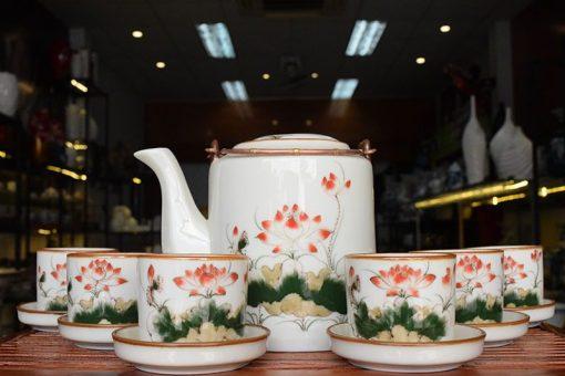 Tại sao nên mua ấm trà Bát Tràng? Cửa hàng bán bộ ấm trà Bát Tràng uy tín?