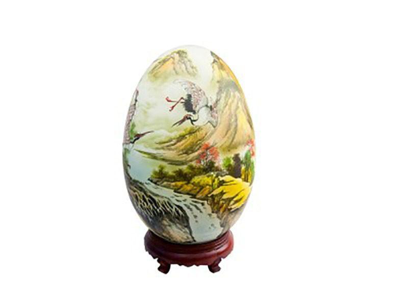 Đèn xông tinh dầu vẽ chim hạt S1 – Gốm sứ Bát Tràng