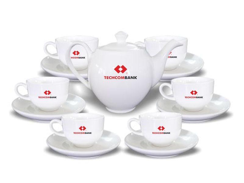 Cung cấp dịch vụ ấm chén in logo tại tphcm | Quà tặng ấm chén cao cấp!