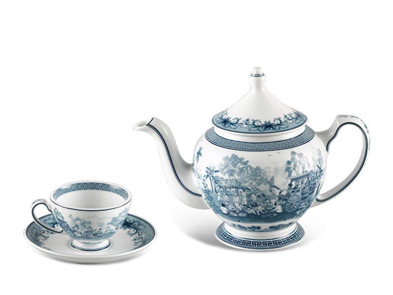 Bộ trà Minh Long Hoàng Cung Hồn Quê 0.8L