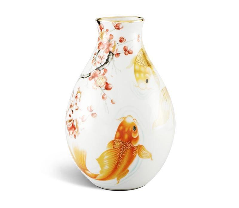 Bình hoa Minh Long 29 cm – Cá Chép