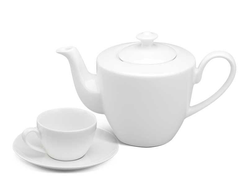 Bộ trà Minh Long Daisy Trắng 0.45L