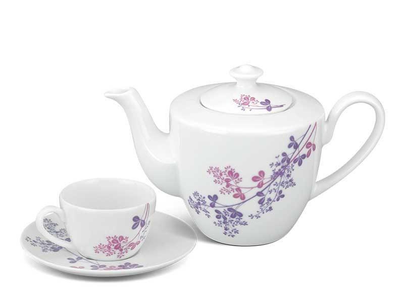 Bộ trà Minh Long, Bộ trà Minh Long Daisy Cỏ Tím