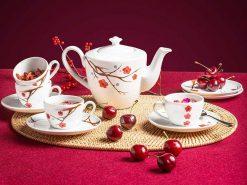 Bộ trà Minh Long, Bộ trà Minh Long Daisy Hồng Mai