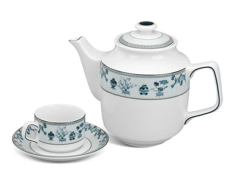 Bộ trà Minh Long Jasmine Tứ Quý 0.7L