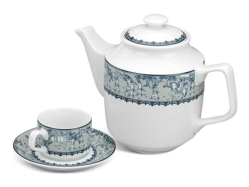 Bộ trà Minh Long Jasmine Vinh Quy Nhạt 0.7L