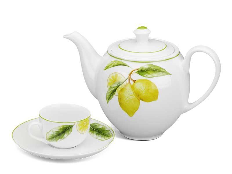 Bộ trà Minh Long Camellia Quả Chanh 0.8L