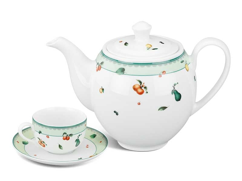 Bộ trà Minh Long Camellia Quả Ngọt 0.8L