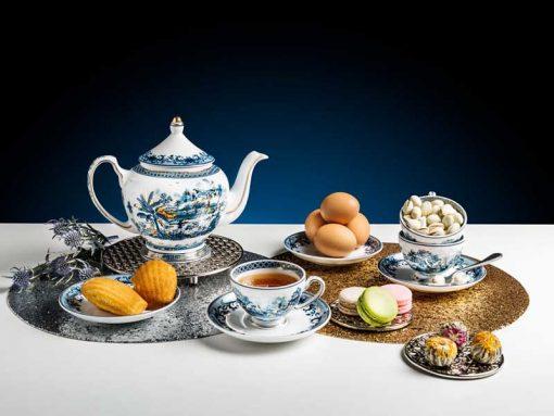 Bộ trà Minh Long , Bộ trà Minh Long Hoàng Cung Hồn Quê