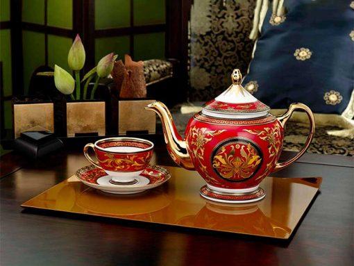 Bộ trà Minh Long, Bộ trà Minh Long Hoàng Cung Quốc Sắc