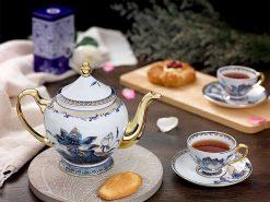 Bộ trà Minh Long, Bộ trà Minh Long Hoàng Cung Sen Ngọc