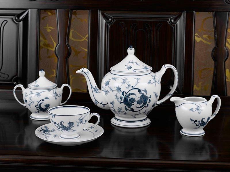 Bộ trà Minh Long Hoàng Cung Lạc Hồng 1.3L