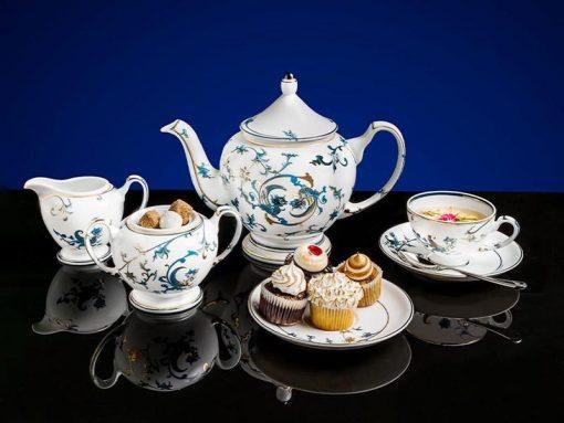 Bộ trà Minh Long, Bộ trà Minh Long Hoàng Cung Lạc Hồng Vàng