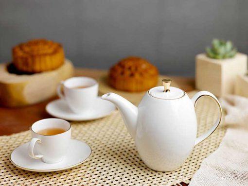 Bộ trà Minh Long , Bộ trà Minh Long Anna Cao Chỉ Vàng