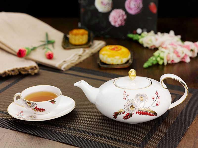 Bộ trà Minh Long Elip Anna – Thiên Kim 0.47L