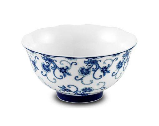 Bộ bàn ăn Minh Long - Mẫu Đơn IFP - Hoa Thanh Lam - 6 chén 11.5 cm