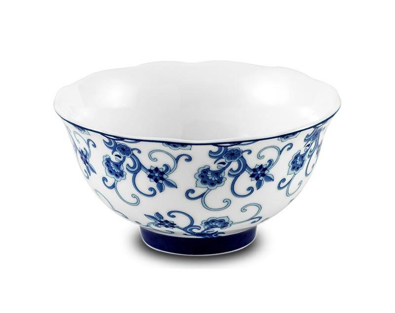 Bộ bàn ăn Minh Long – Mẫu Đơn IFP – Hoa Thanh Lam – 6 chén 11.5 cm
