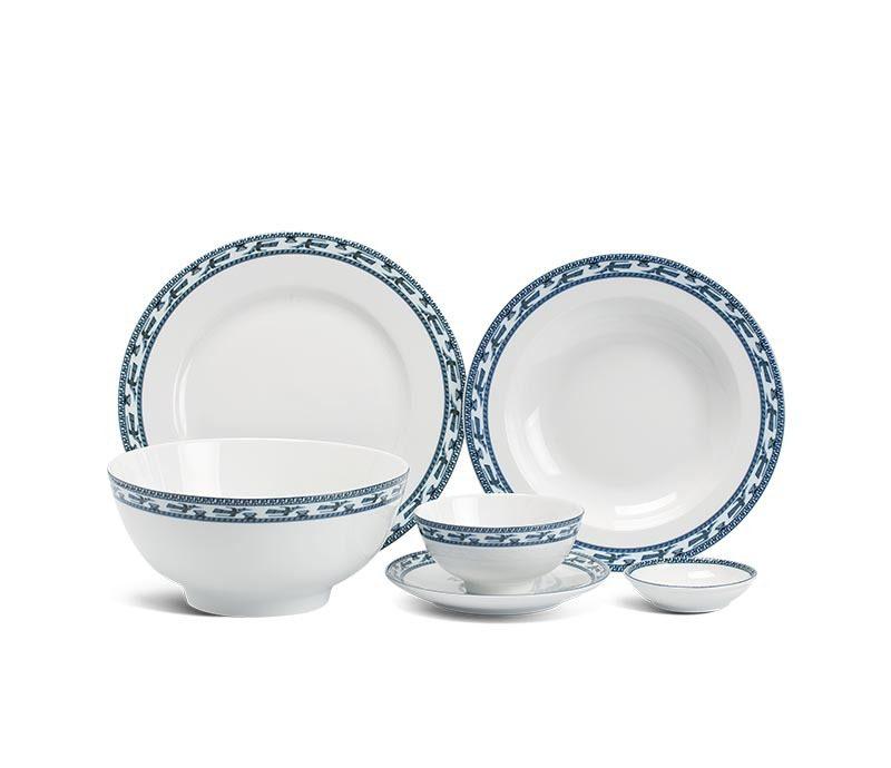 Bộ bàn ăn Minh Long Jasmine Chim Lạc – 36 sản phẩm