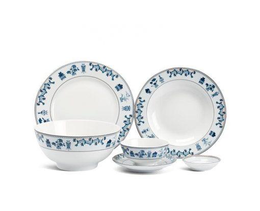 Bộ bàn ăn Minh Long Jasmine Tứ Quý - 36 sản phẩm