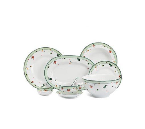 Bộ bàn ăn Minh Long Camellia Quả Ngọt - 48 sản phẩm