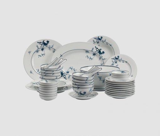 Bộ bàn ăn Minh Long Hoàng Cung Lạc Hồng - 48 sản phẩm