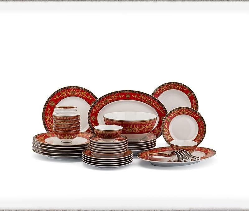 Bộ bàn ăn Minh Long Hoàng Cung Quốc Sắc – 48 sản phẩm