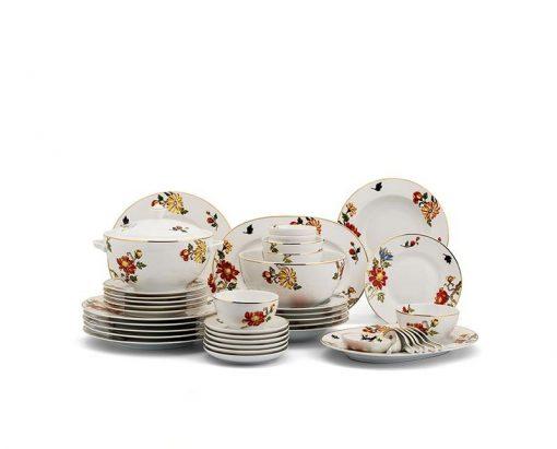 Bộ bàn ăn Minh Long Camellia Cát Tường - 49 sản phẩm