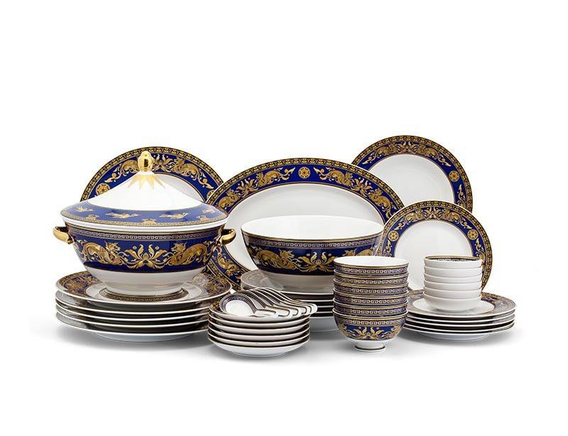 Bộ bàn ăn Minh Long Âu-Á Hoàng Cung Cẩm Tú – 44 sản phẩm