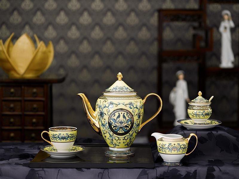 Bộ cà phê Minh Long Hoàng Cung Hoàng Liên 1.5L