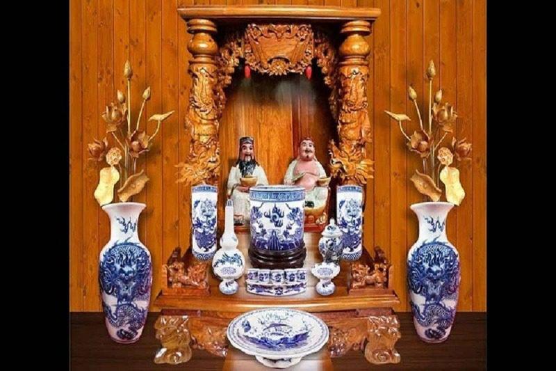 Bàn thờ ông địa nên đặt ở đâu? Cách đặt bàn thờ Thần Tài Thổ Địa tốt nhất