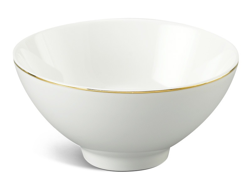 Chén cơm Minh Long Daisy IFP Chỉ Vàng 11.5cm