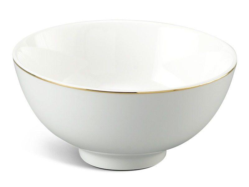 Chén cơm Minh Long Jasmine IFP Chỉ Vàng 11.5cm