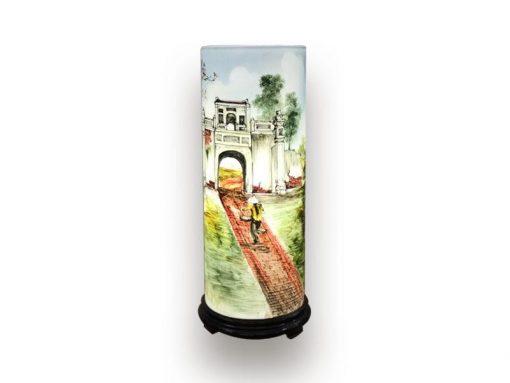 đèn xông tinh dầu, den xong tinh dau, đèn xông tinh dầu bằng điện, đèn xông tinh dầu bát tràng, đèn xông tinh dầu điện giá rẻ, đèn xông tinh dầu tphcm, đèn xông tinh dầu giá rẻ, đèn ngủ xông tinh dầu, đèn xông tinh dầu điện hcm, đèn xông tinh dầu giá sỉ, Đèn Xông Tinh Dầu Bát Tràng Dáng Ống - Đường Quê