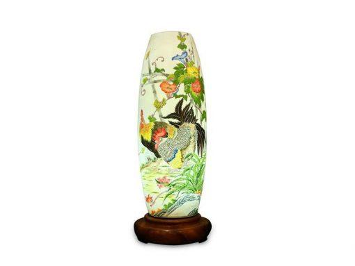 đèn xông tinh dầu, den xong tinh dau, đèn xông tinh dầu bằng điện, đèn xông tinh dầu bát tràng, đèn xông tinh dầu điện giá rẻ, đèn xông tinh dầu tphcm, đèn xông tinh dầu giá rẻ, đèn ngủ xông tinh dầu, đèn xông tinh dầu điện hcm, đèn xông tinh dầu giá sỉ, Đèn Xông Tinh Dầu Bát Tràng - Gà Trống -Tiêu Kê