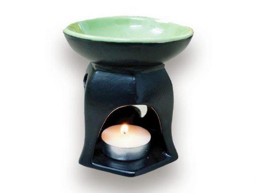 đèn xông tinh dầu, den xong tinh dau, đèn xông tinh dầu bằng điện, đèn xông tinh dầu bát tràng, đèn xông tinh dầu điện giá rẻ, đèn xông tinh dầu tphcm, đèn xông tinh dầu giá rẻ, đèn ngủ xông tinh dầu, đèn xông tinh dầu điện hcm, đèn xông tinh dầu giá sỉ, Chân Đèn Xông Tinh Dầu Bát Tràng Đốt Nến - Hình Lục Giác