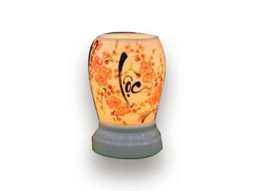 đèn xông tinh dầu, den xong tinh dau, đèn xông tinh dầu bằng điện, đèn xông tinh dầu bát tràng, đèn xông tinh dầu điện giá rẻ, đèn xông tinh dầu tphcm, đèn xông tinh dầu giá rẻ, đèn ngủ xông tinh dầu, đèn xông tinh dầu điện hcm, đèn xông tinh dầu giá sỉ, Đèn Xông Tinh Dầu Bát Tràng Dáng Trứng - Lộc