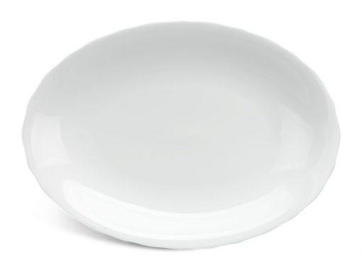 Dĩa oval Minh Long, Dĩa oval Minh Long Mẫu Đơn IFP Trắng Ngà