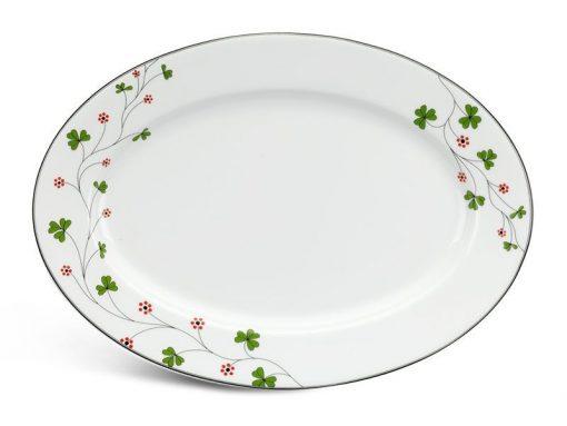 Dĩa oval Minh Long, Dĩa oval Minh Long Jasmine Hoa May Mắn