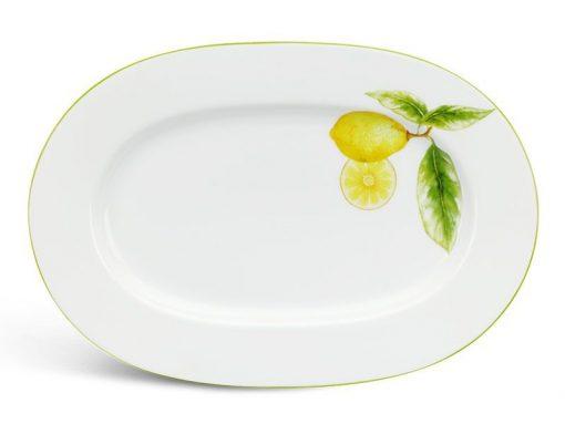 Dĩa oval Minh Long, Dĩa oval Minh Long Camellia Quả Chanh