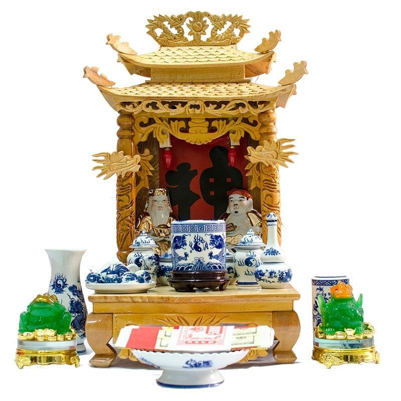 Thay bàn thờ ông địa mới | Chọn ngày tốt thay bàn thờ ông địa