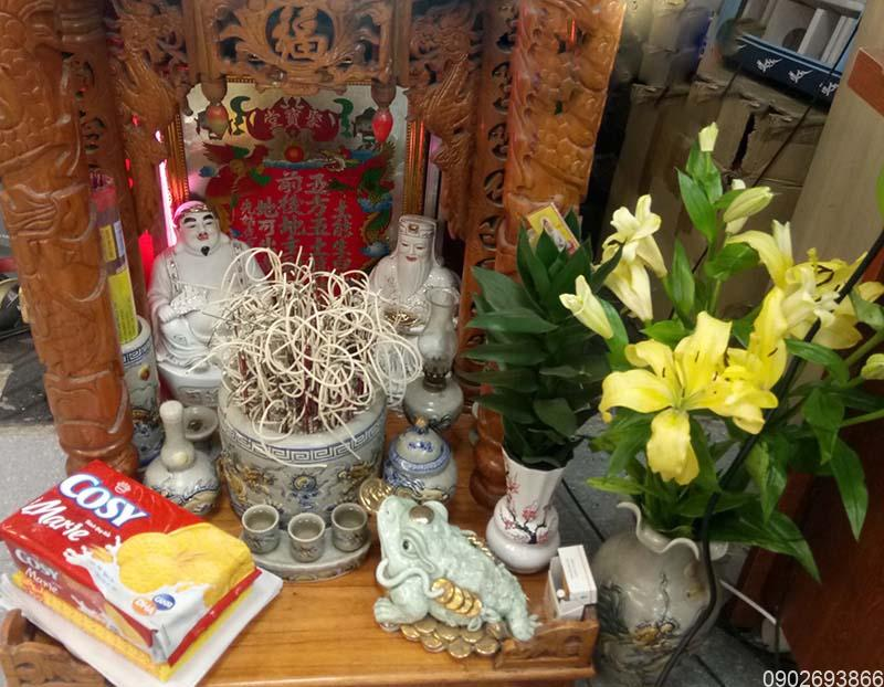 Vị trí đặt bàn thờ ông địa trong nhà | Cách chọn vị trí đặt bàn thờ ông địa