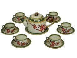 Bộ ấm trà Bát Tràng