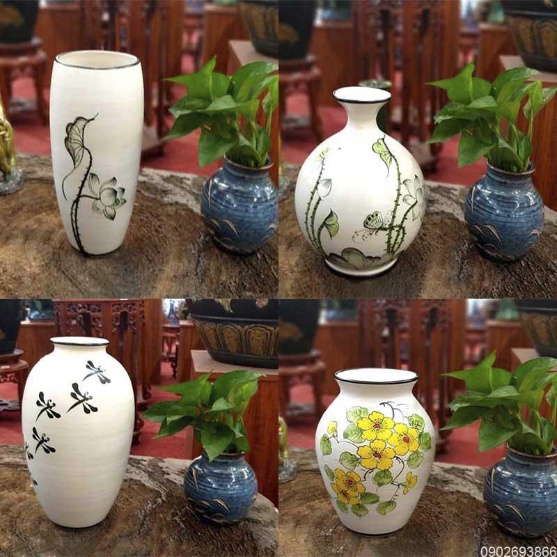 Bình hoa; lọ hoa là gì? Bình hoa Bát Tràng; Lọ hoa Minh Long