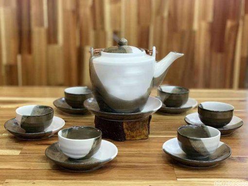bộ ấm trà, bộ ấm chén, ấm trà bát tràng
