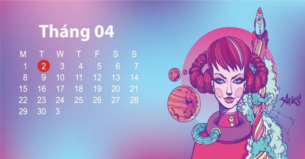 Tính cách cung Bạch Dương theo ngày sinh tháng 4