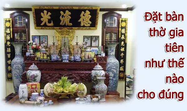 Muốn thay đổi bàn thờ Thần Tài cần chú ý điều gì?