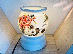 Đèn Xông Tinh Dầu Bát Tràng Cá Chép Trông Trăng- H42cm