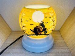 Đèn Xông Tinh Dầu Bát Tràng Dáng Ống – Chùa Một Cột-H42cm