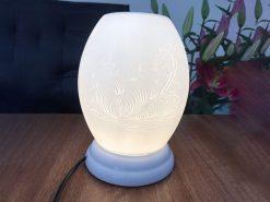 Đèn Xông Tinh Dầu Bát Tràng – Bát Mã – H52cm